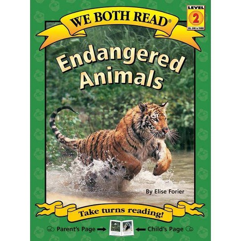 Endangered Animals - (We Both Read - Level 2 (Cloth)) by  Elise Forier (Hardcover) - image 1 of 1