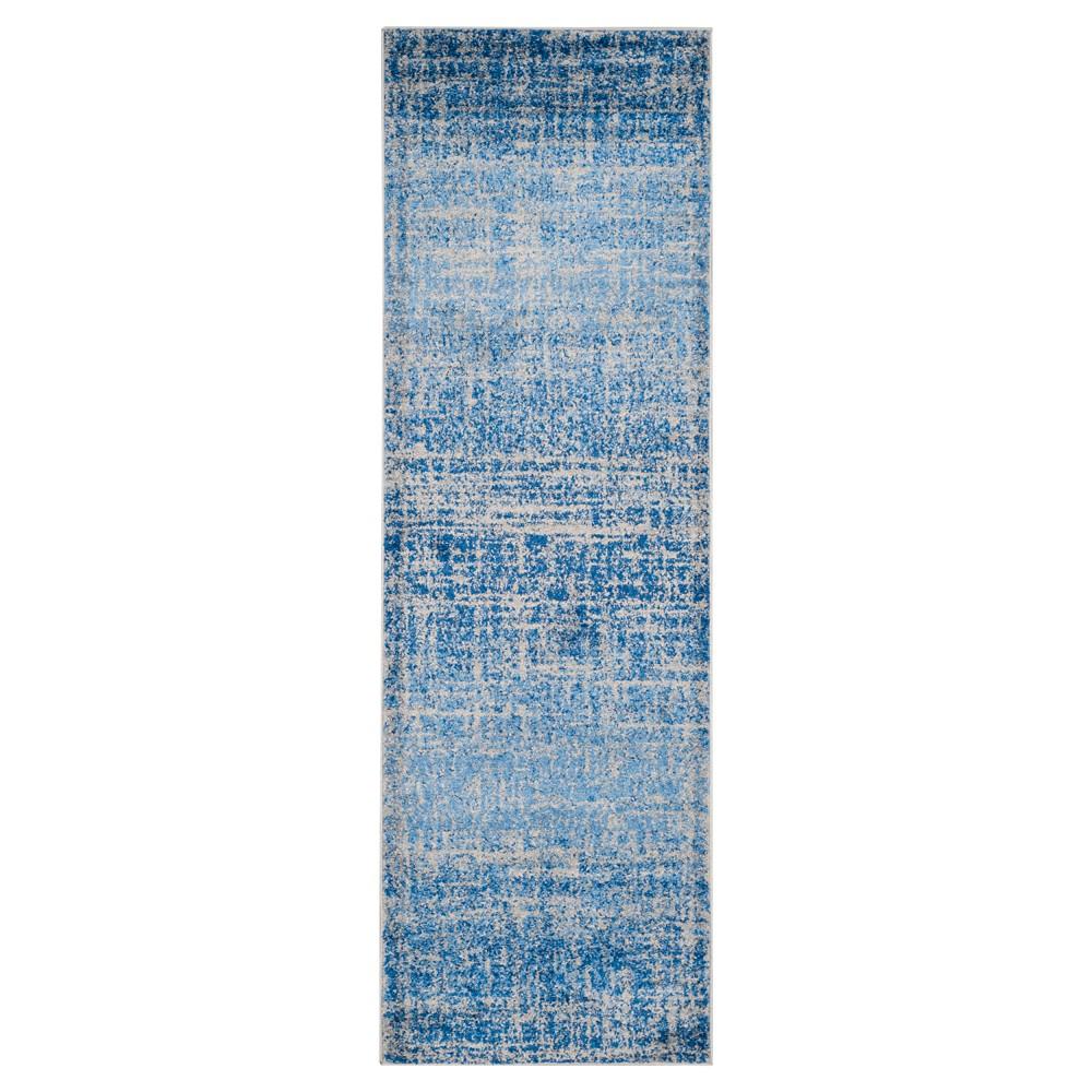 Adirondack Rug - Blue/Silver - (2'6x8') - Safavieh