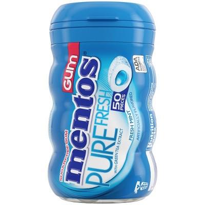Mentos Fresh Mint Gum - 50ct