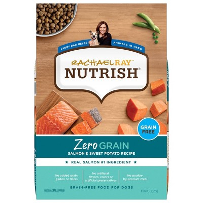 Rachael Ray Nutrish Zero Grain Salmon & Sweet Potato Dry Dog Food