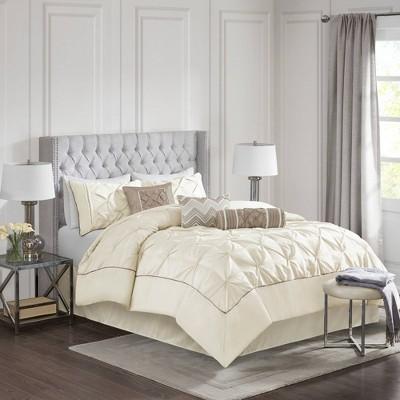 Piedmont Comforter Set (Queen)Ivory - 7pc