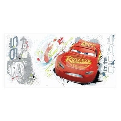 RoomMates Cars 3 Peel and Stick Wall Decal Single Sheet