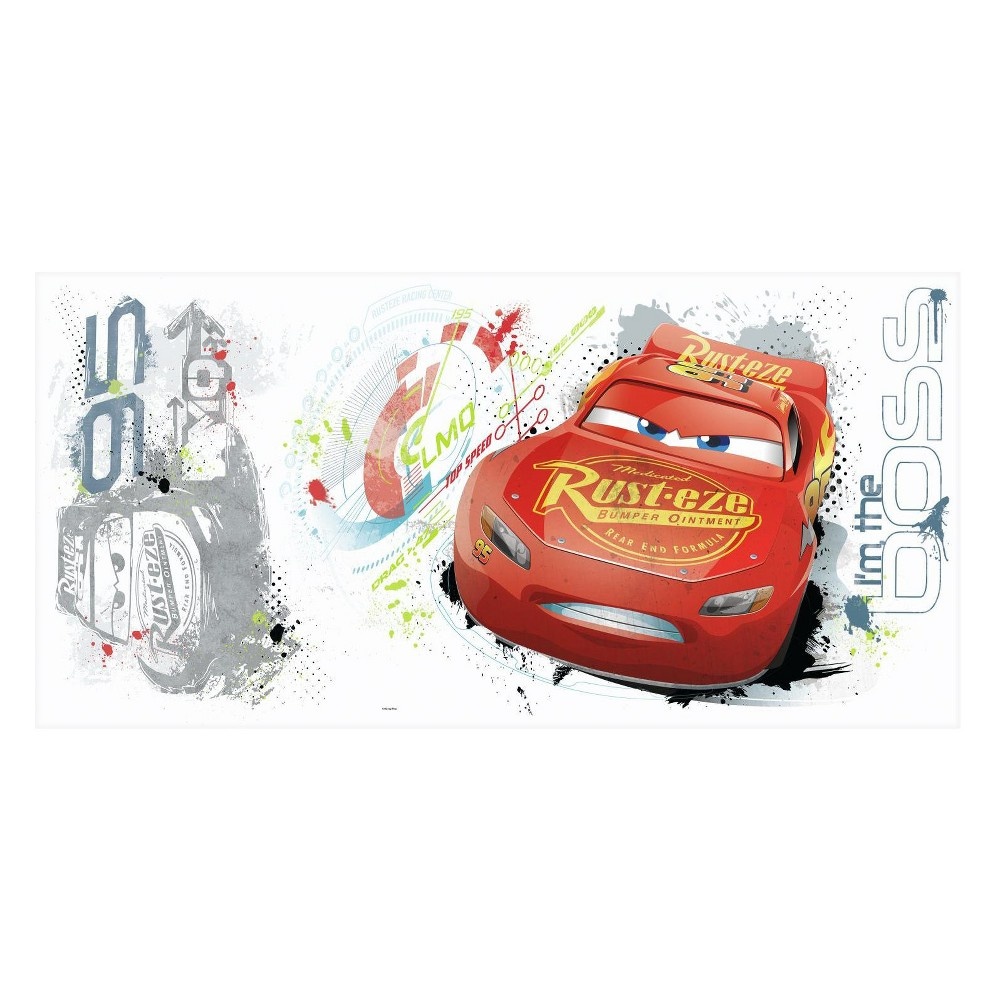 Image of RoomMates Cars 3 Peel and Stick Wall Decal Single Sheet