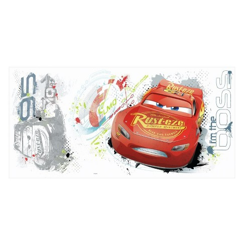 RoomMates Cars 3 Peel and Stick Wall Decal Single Sheet - image 1 of 2