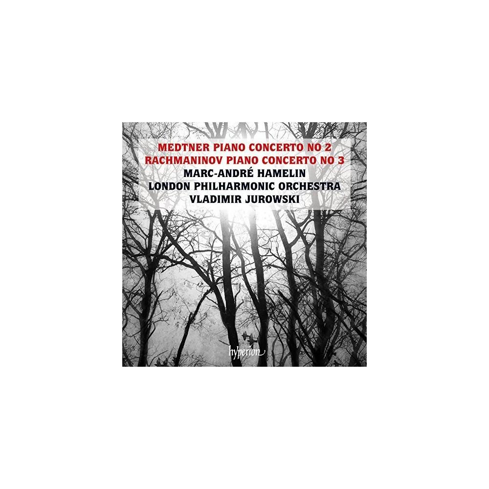 Marc-andre Hamelin - Medtner & Rachmaninov:Piano Concertos (CD)