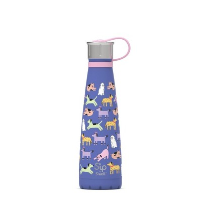 S'ip 15oz Stainless Printed Water Bottle