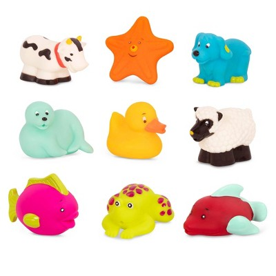 B. toys Animal Bath Squirts - Squish and Splash Duck