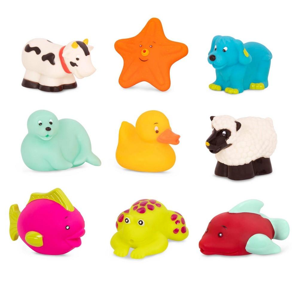 B. Toys Bath Buddies Set with Duck 9pk