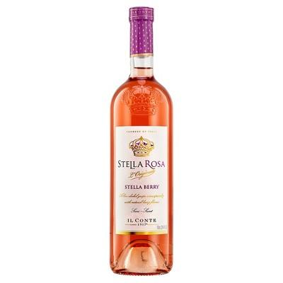 Stella Rosa Stella Berry Rosé Wine - 750ml Bottle