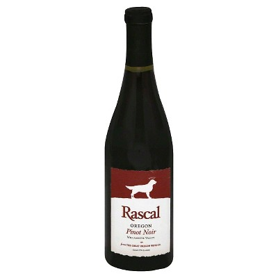 Rascal Pinot Noir Red Wine - 750ml Bottle