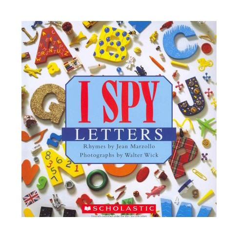 I Spy Letters - by  Jean Marzollo (Paperback) - image 1 of 1