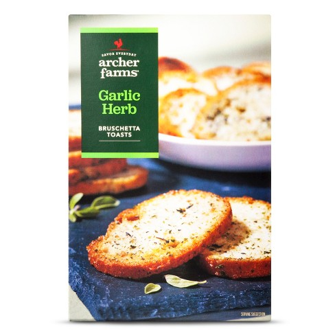 Garlic Herb Bruschetta Toasts 4oz - Archer Farms™ - image 1 of 1