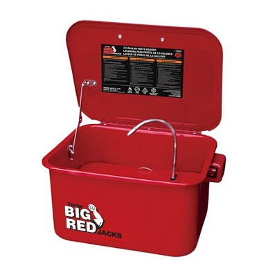 Torin Big Red T10035 3.5 Gal Steel Cabinet Portable Parts Washer & Electric Pump