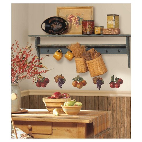 RoomMates Fruit Harvest Peel & Stick Wall Decals - image 1 of 1