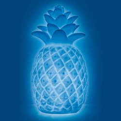 Mini Pineapple Color Changing Light Up Novelty Table Lamp - West & Arrow