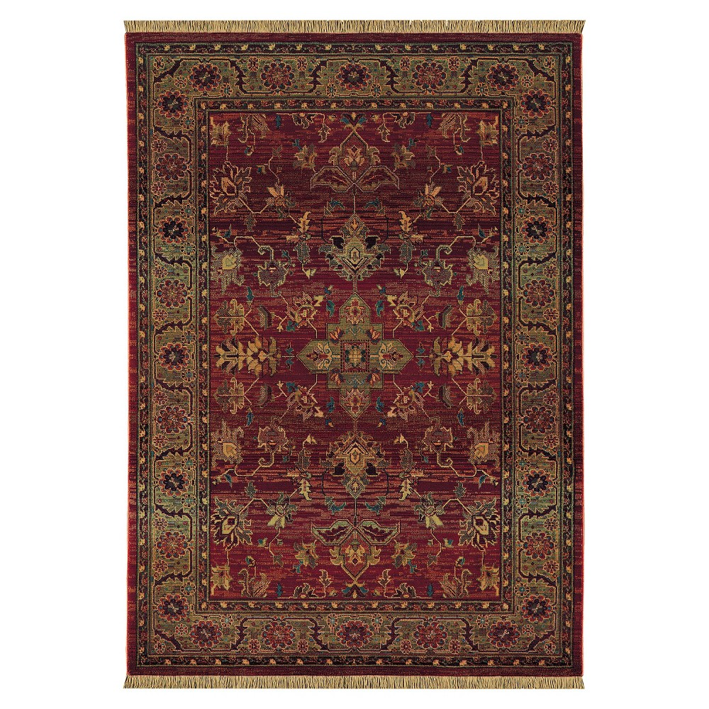 Ansley Area Rug - Red (5'3
