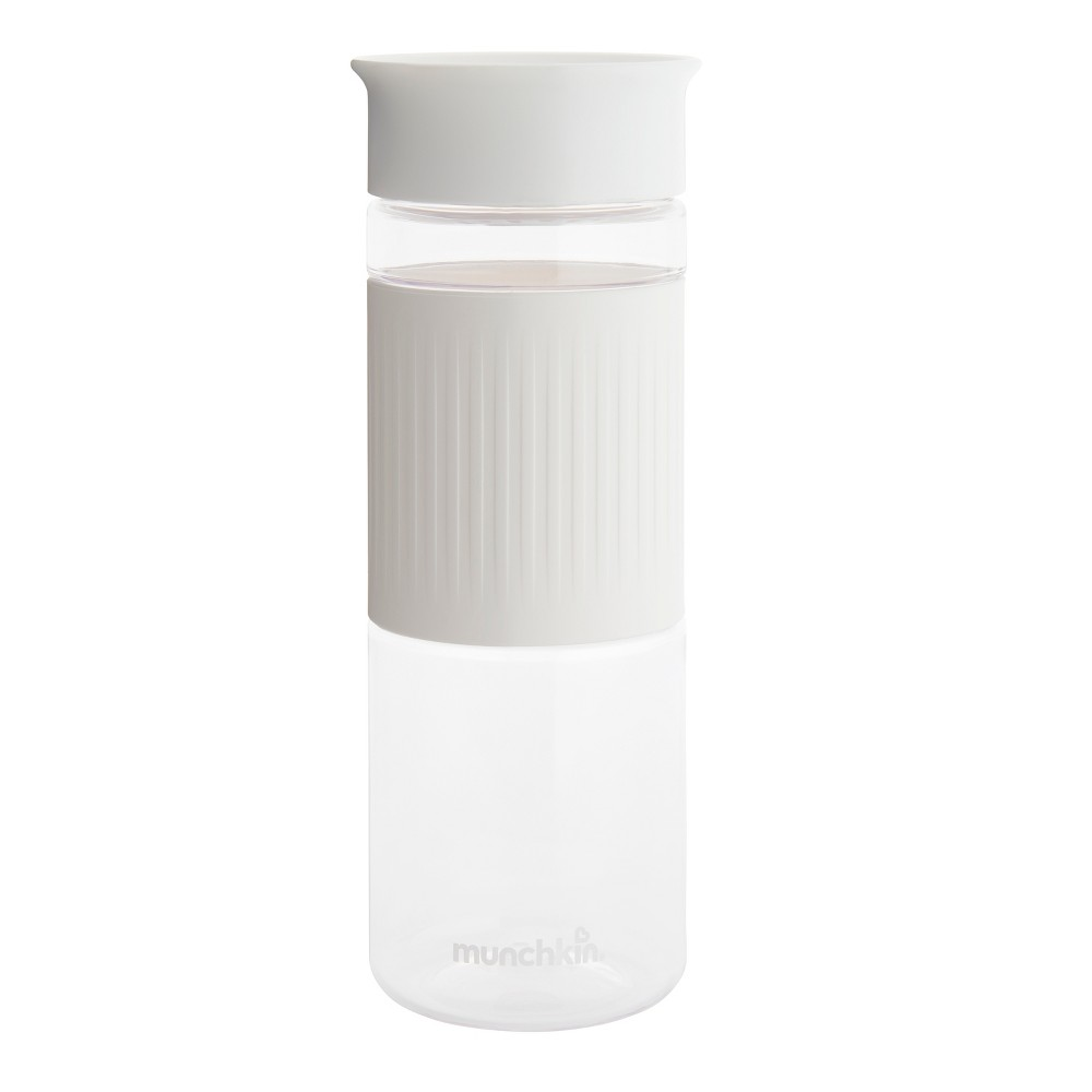 Munchkin Miracle 360° Spill Proof Water Bottle 24oz - White