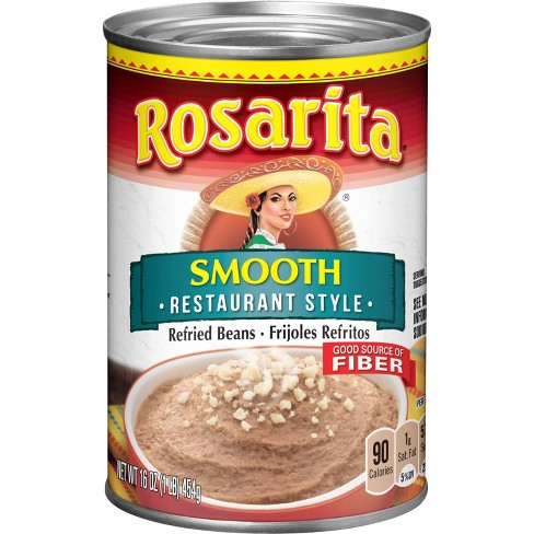 Rosarita Smooth Restaurant Style Refried Beans - 16oz - image 1 of 3