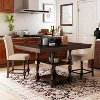 3pc Merrill Nail Head Trim Kitchen Island Set Antique Cherry/Beige - HOMES: Inside + Out - image 2 of 3