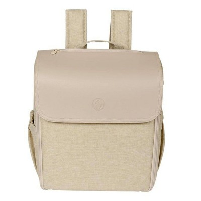 Lulyboo Diaper Bag Backpack Cubby - Oat