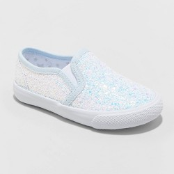 Toddler Girls' Madigan Twin Gore Glitter Sneakers - Cat & Jack™