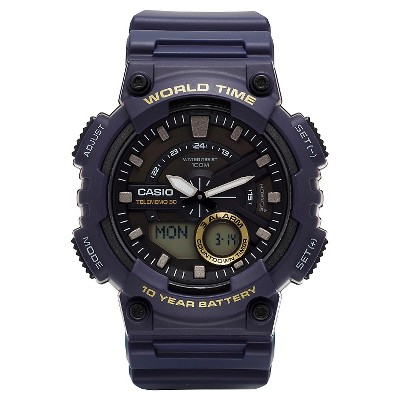 Casio Men's Ana-Digi Watch - Blue (AEQ110W-2AVCF)