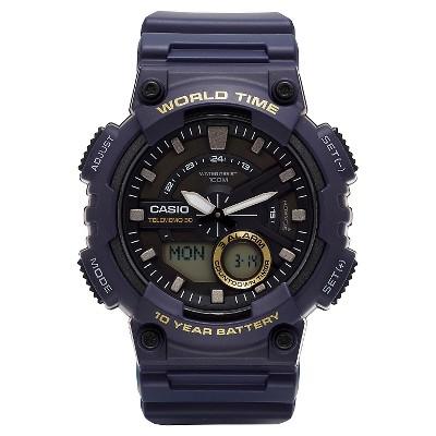 Casio Men's Ana-Digi Watch - Blue (AEQ110W-2AVCF)