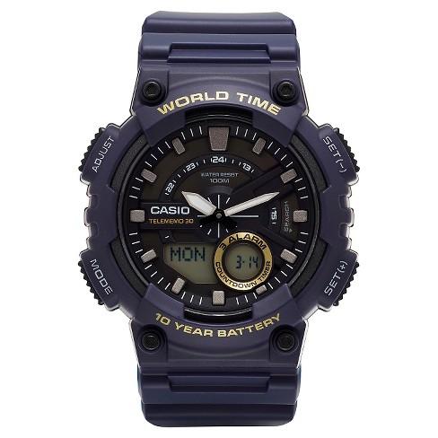 Casio Men's Ana-Digi Watch - Blue (AEQ110W-2AVCF) - image 1 of 2