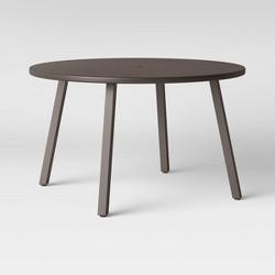 Arcata Round Table Dark Gray Safavieh