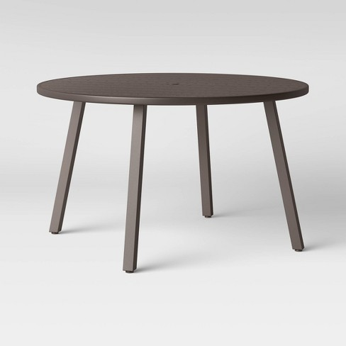 Monroe 4 Person Patio Dining Table Brown - Threshold™ - image 1 of 4