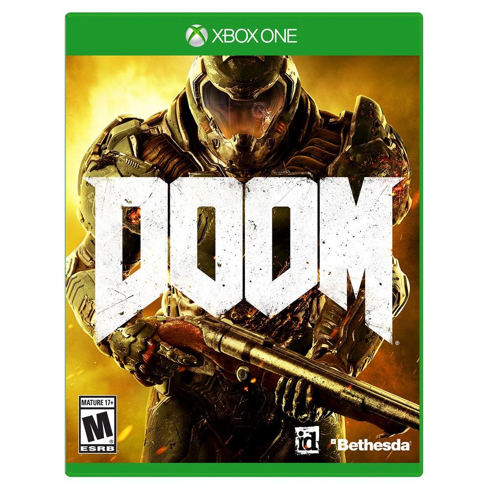Doom Xbox One, video games
