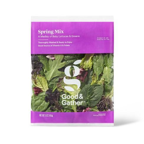 Spring Mix Lettuce - 5oz - Good & Gather™ - image 1 of 3