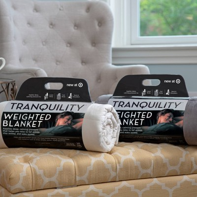 48 X 72 18lbs Weighted Blanket Tranquility Target