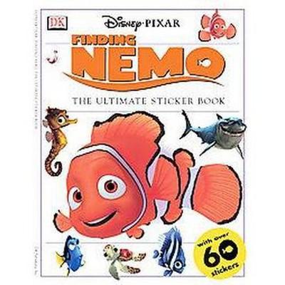 Ultimate Sticker Book: Finding Nemo - (Paperback)