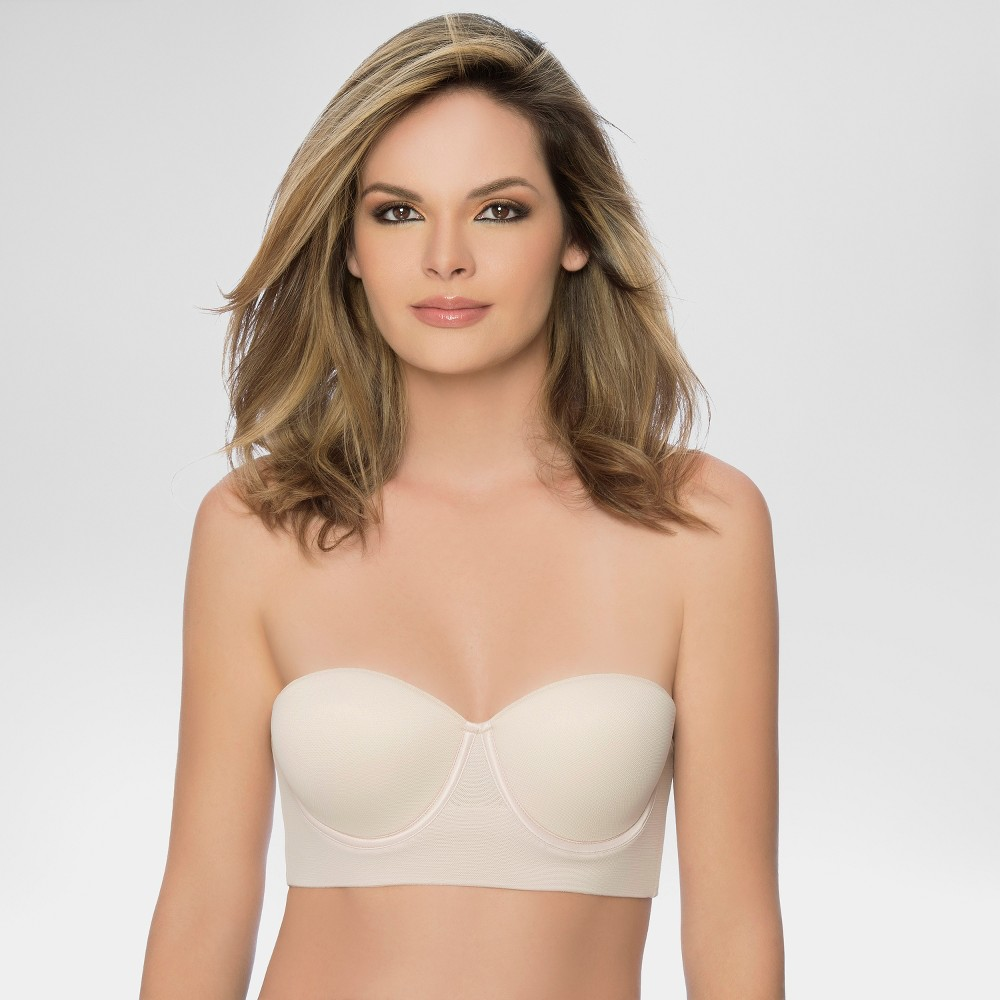 Image of Annette Women's Control Bra with Extra Side Support - Beige 34B