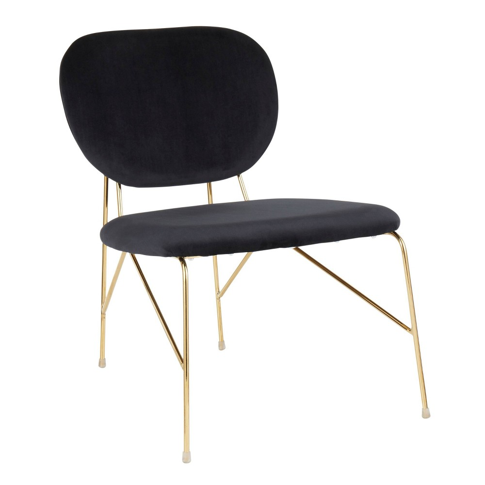 Gwen Contemporary Glam Accent Chair LumiSource