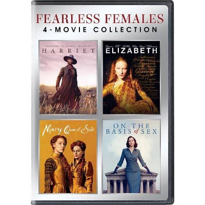 Fearless Females: 4-Movie Collection (DVD)(2021)