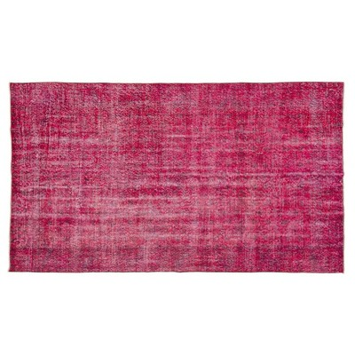 """5'4""""x8'11"""" Vintage One-of-a-Kind Fortunat Rug Red - Revival Rugs"""