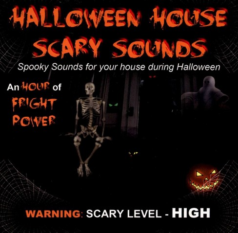 Various - Halloween house scary sounds (CD) - image 1 of 2