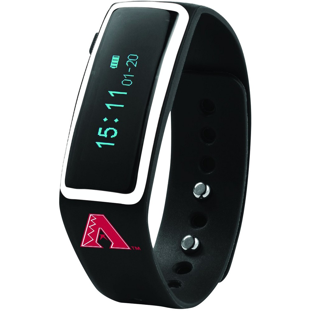 MLB Arizona Diamondbacks Nuband Activity and Sleep Tracking Band - Black