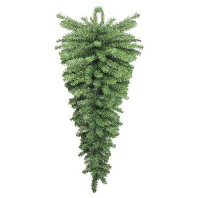"""Northlight 42"""" Unlit Canadian Pine Artificial Christmas Teardrop Door Swag"""
