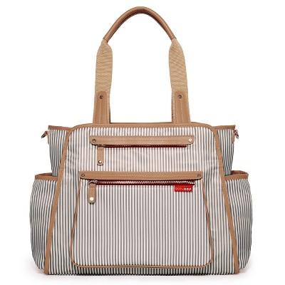Skip Hop Grand Central Take-It-All Diaper Bag - French Stripe