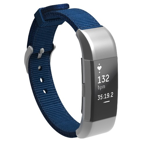North Charge 2 Nylon Fitness Monitor Strap - Navy - image 1 of 2