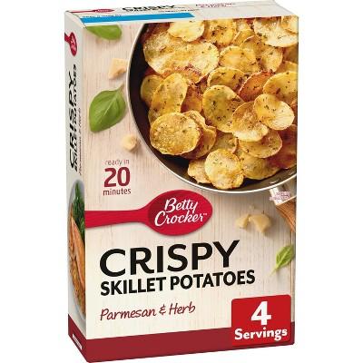 Betty Crocker Crispy Skillet Parmesan Herb Potatoes - 4.2oz