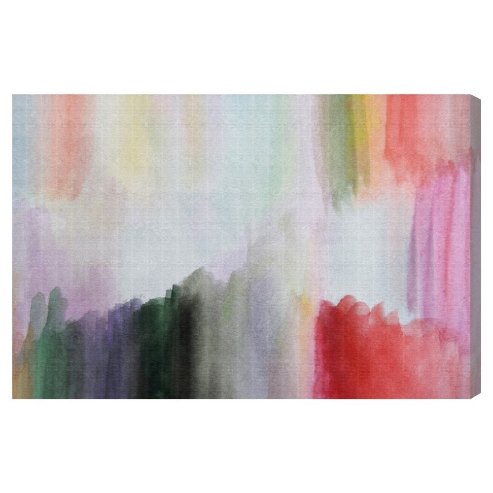 "Image of ""Oliver Gal Unframed Wall """"Anona"""" Canvas Art (24x16), Multicolored"""