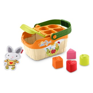 Fisher-Price Tiny Garden Sort and Learn Picnic