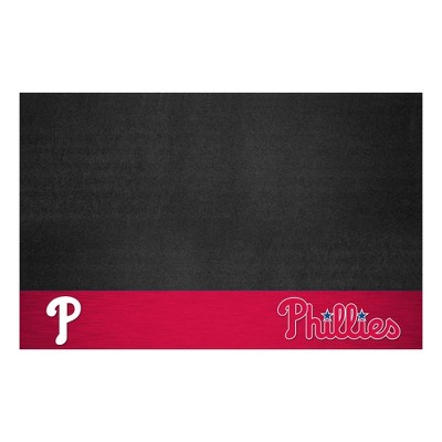 "MLB Philadelphia Phillies 26""x42"" Grill Mat"