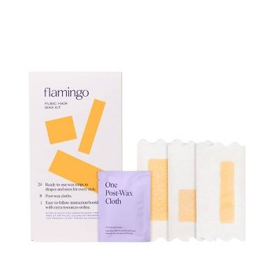 Flamingo Pubic Hair Wax Kit - 24ct