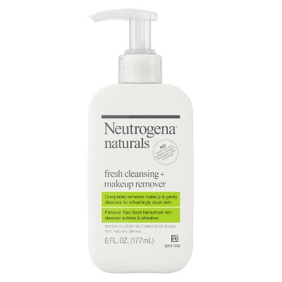 Facial Cleanser: Neutrogena Naturals Fresh Cleansing + Makeup Remover