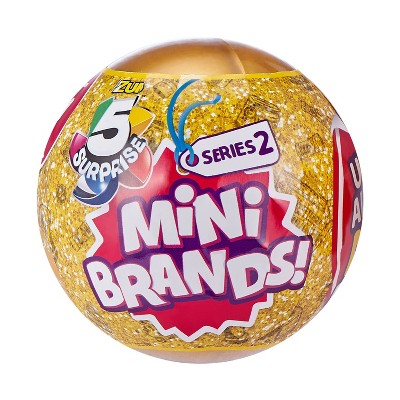 5 Surprise Mini Brands! Surprise Ball - Series 2